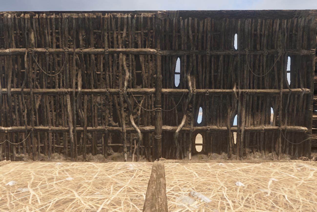 Rust Build Twig Wall