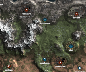 Hoe gebruik je de M voor de in-game map?