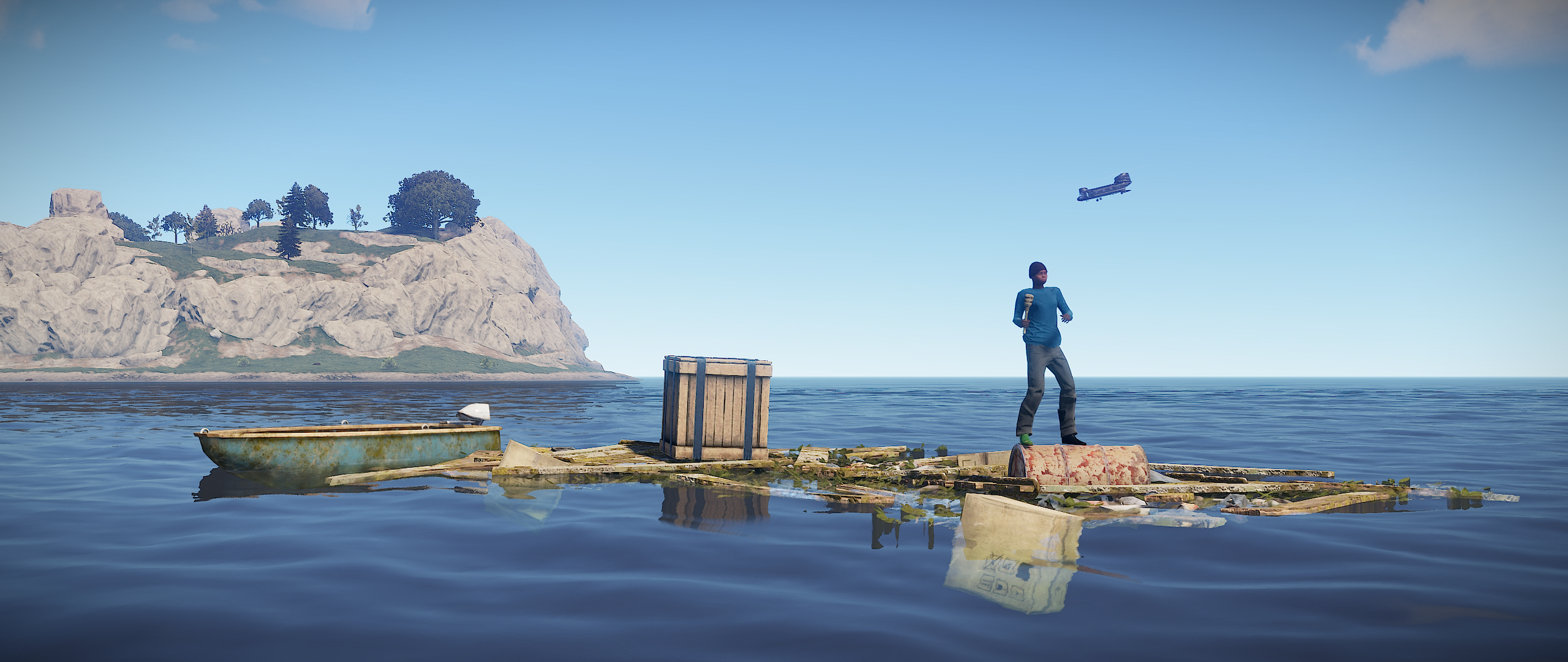 Boats, floating junkpiles, Chinook, map, scientists and more