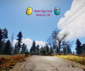 Rust Easter Egg Hunt Event is live, how does it work?