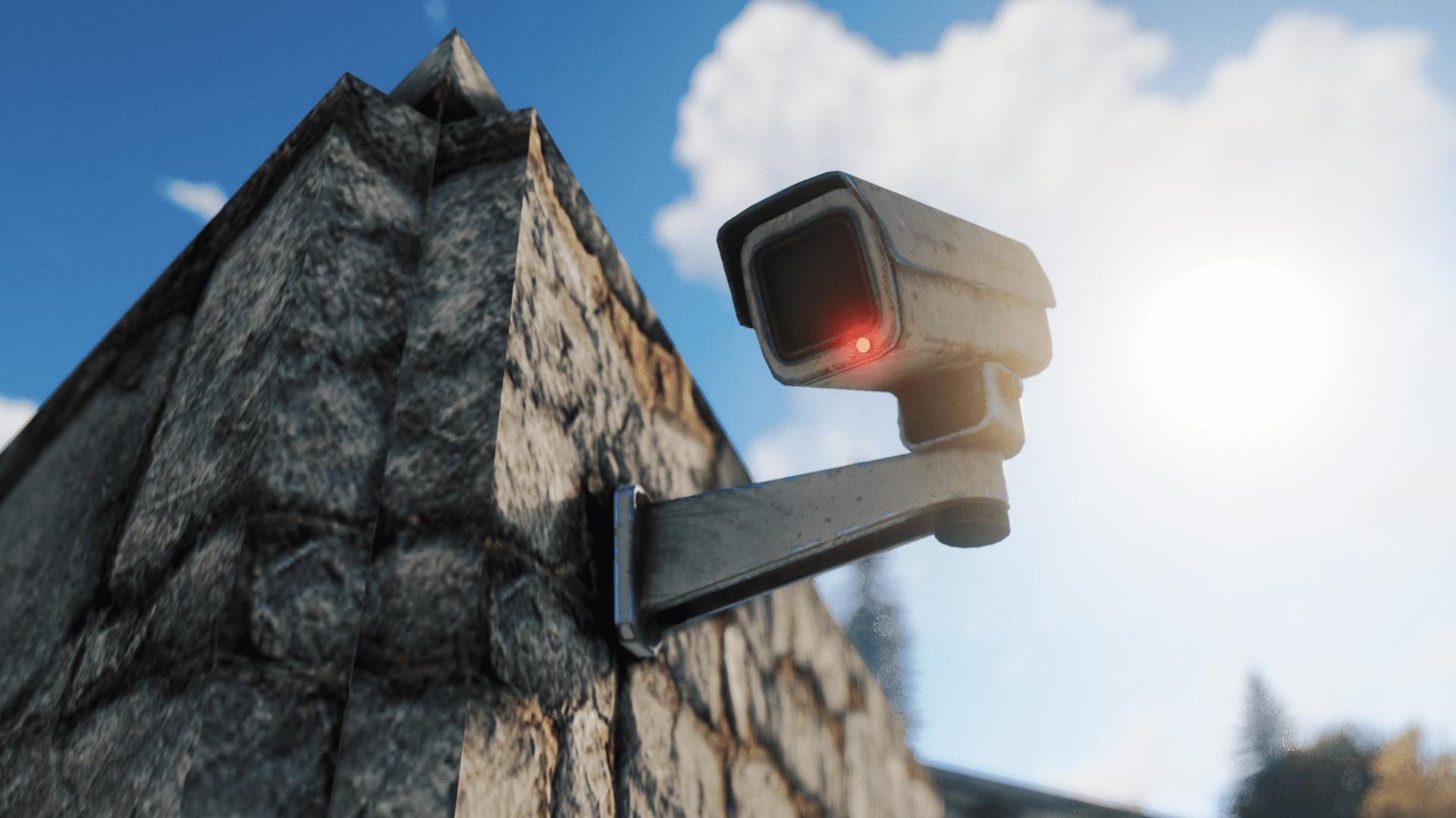 Hoe werkt het nieuwe CCTV camerasysteem in Rust?